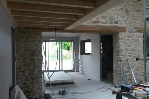 Rénovation d'une grange