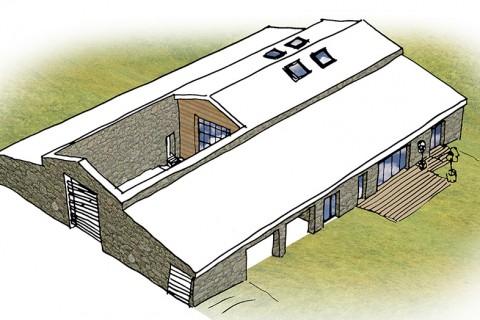 rénovation grange habitation