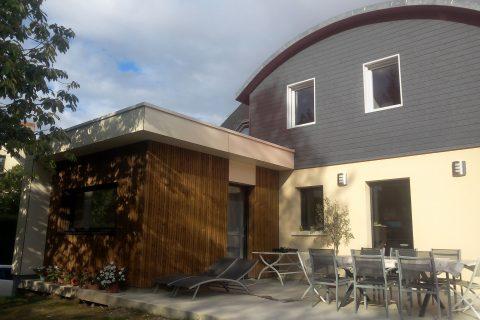 Extension et restructuration d'une habitation - extension et relookage