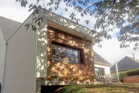 Extension et restructuration d'une habitation - extension