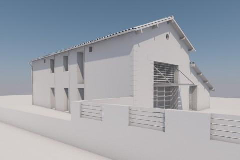 Transformation d'une grange en habitation