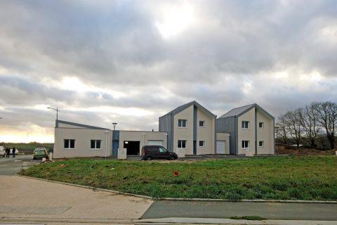 construction de 7 logements - ilôt C