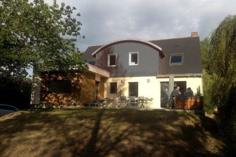Extension et restructuration d'une habitation - vue d'ensemble