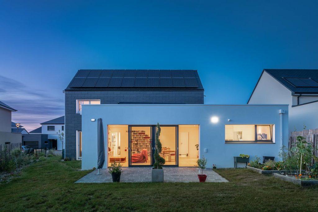 maison passive Angers FCLR - jardin