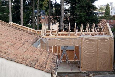 INSO rénovation extension écologique Ossature Bois