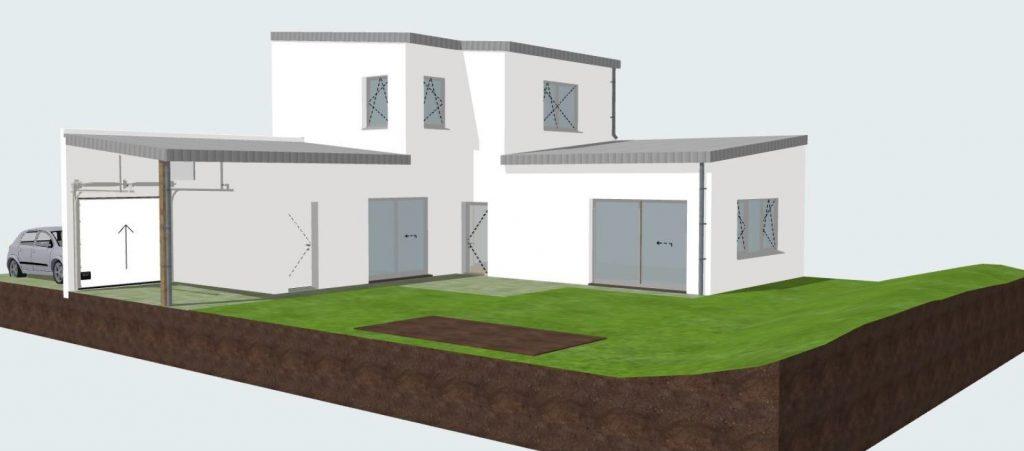 maison passive, biosourcée et bas carbone