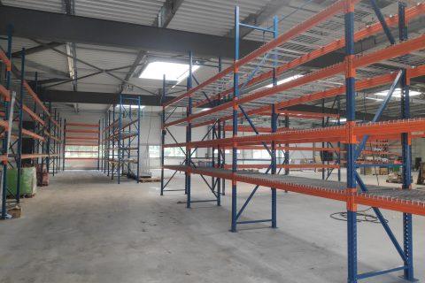 extension d'un bâtiment industriel