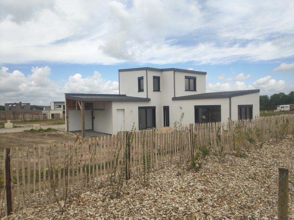 Maison passive ossature bois près d'Angers