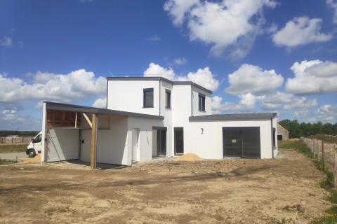 Maison passive biosourcée et bas carbone